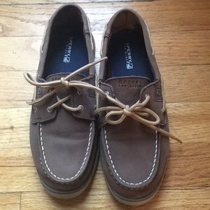 Boys Sperry Topsiders! Size Youth 4.5M
